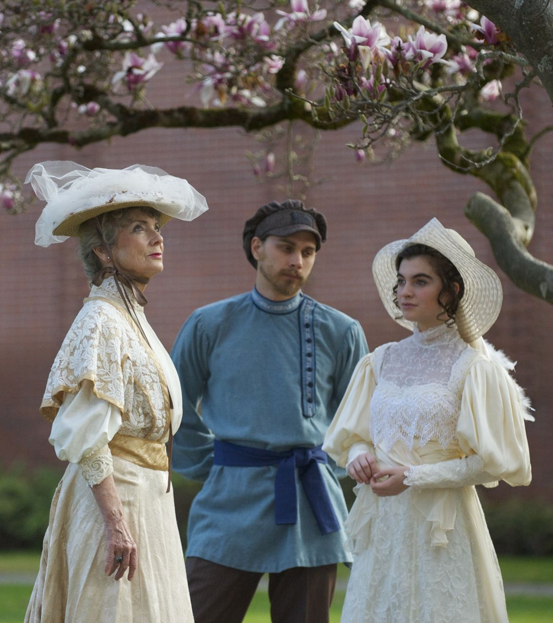 A lost world evoked in srjcs the cherry orchard digitale stories from left molly umholtz devin winter grace kent photo by tom buycottarizona